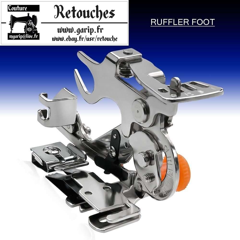 Pied Fronceur Plisseur Ruffler Pieds De Biche Rufleur Machine à Coudre 55705 Garip S Store